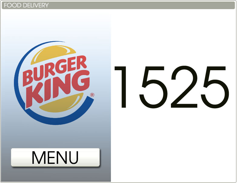 Burger King Delivery Number
